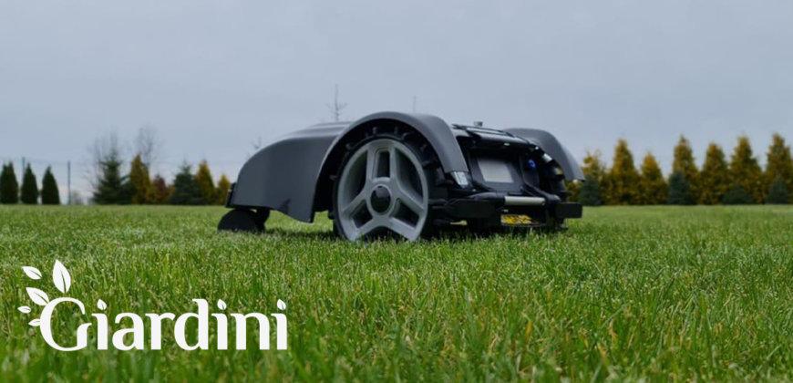 Montaż robotów koszących Giardini