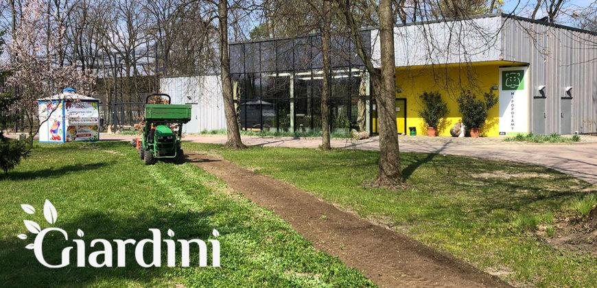 Giardini Łąki kwietne w Łódzkim Zoo